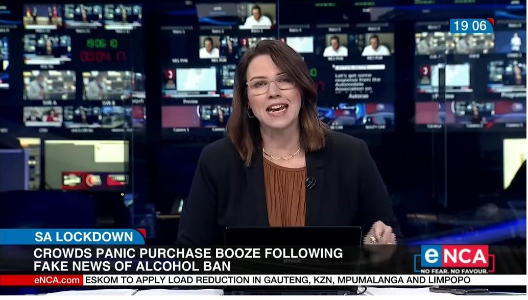 Crowd Panic Buy After Fake News of Alcohol Ban