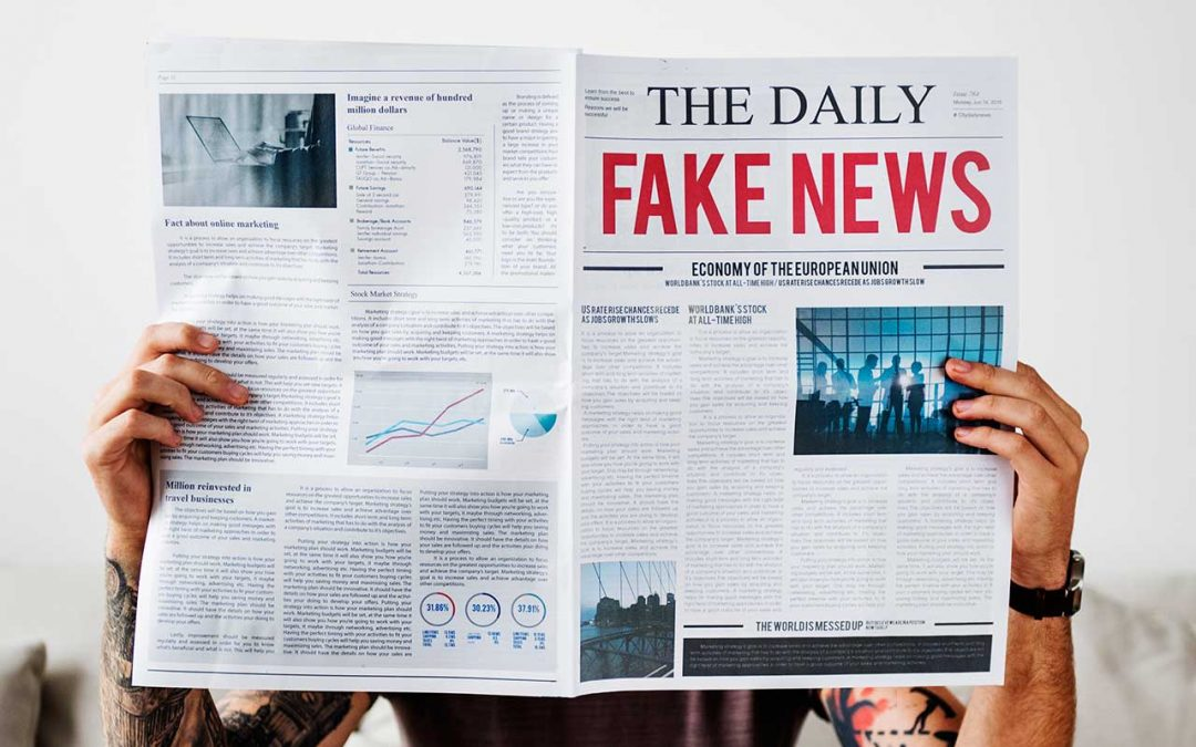How to tell if the news is fake
